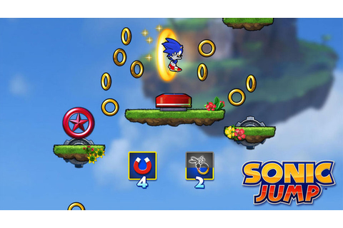 Sonic Jump | Glimpse To Future Gaming