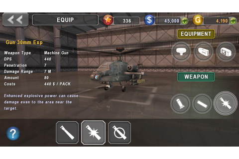 GUNSHIP BATTLE Helicopter 3D mod apk | PC And Modded ...