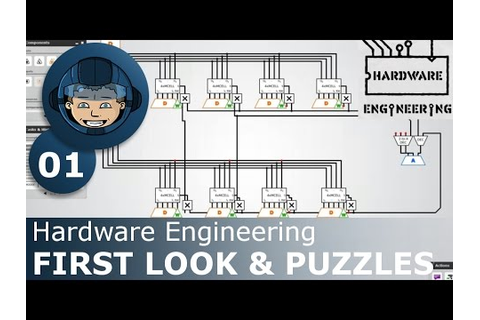 FIRST LOOK & PUZZLES - Hardware Engineering: Ep. #1 - Gameplay ...