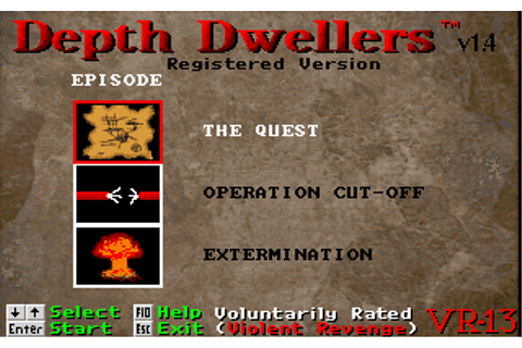 Download Depth Dwellers - My Abandonware