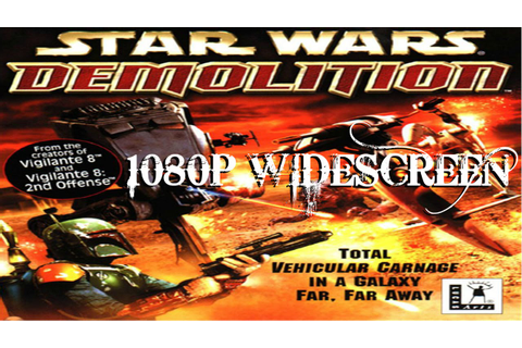 STAR WARS DEMOLITION CUTSCENES 1080P - YouTube