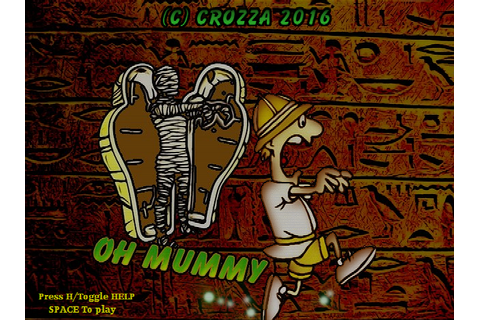 Indie Retro News: Oh Mummy - One of the best Amstrad games ...