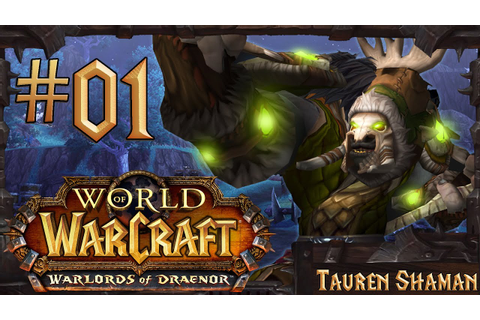 World of Warcraft: Warlords of Draenor Lvl 90-100 Gameplay ...