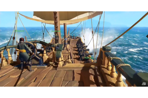 Rare announces swashbuckling Sea of Thieves for Xbox One ...