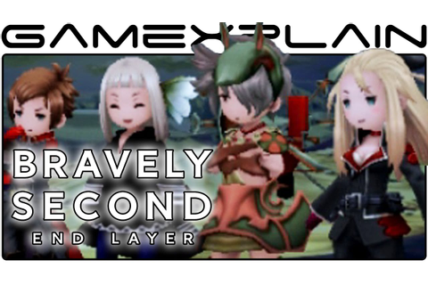 25 Minutes of Bravely Second: End Layer Gameplay (English ...