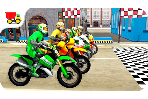 Bike racing games - Bike Racing Moto - Gameplay Android ...