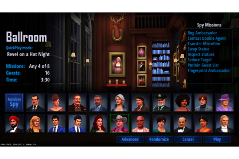Three Updates: New User Interface! » SpyParty – A Spy Game ...