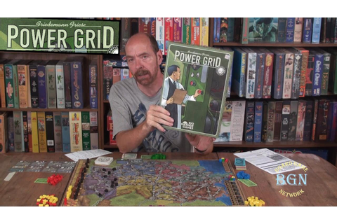 How to Play the board game Power Grid - YouTube