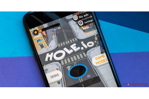 Hole.io is a city eating game with a competitive twist ...