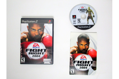 Fight Night 2004 game for Playstation 2 (Complete) | The ...