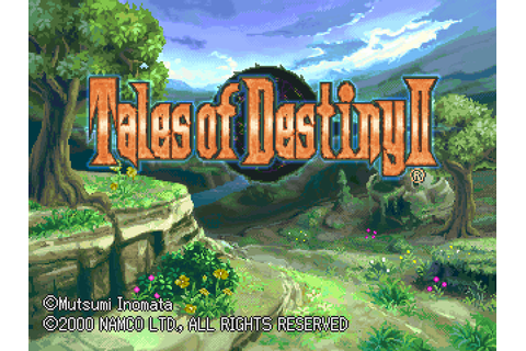 Super Adventures in Gaming: Tales of Destiny II (PSX)