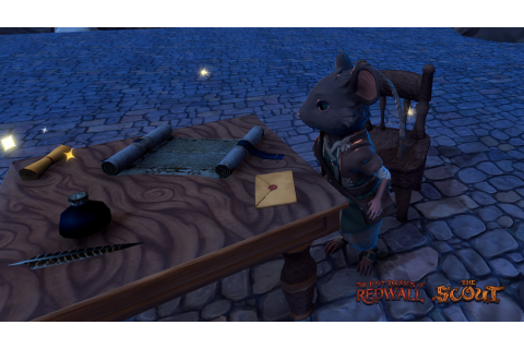The Lost Legends of Redwall: The Scout - Tai game ...