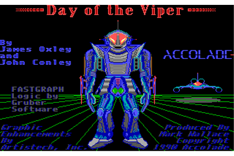 Day Of The Viper (1989)(Accolade) Game