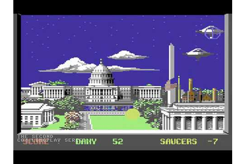 C64 Longplay - Saucer Attack - YouTube