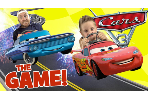 Let's Play CARS 3 Movie Game! Driven to Win Race & Stunt ...