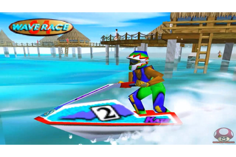 Gameplay: Wave Race 64 (Nintendo 64) - HD - YouTube