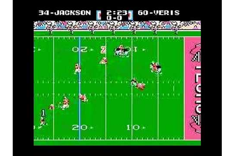Bo Knows - crazy Tecmo Super Bowl run - YouTube