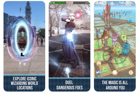 Augmented Reality Game 'Harry Potter: Wizards Unite ...
