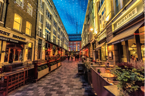 Where to find the Secret Streets of London