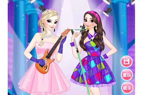 App Shopper: Singer star sisters - Princess dress up girl ...