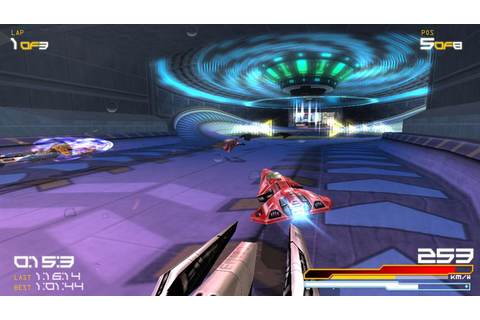 WipEout Pure Review (PSP) - The Average Gamer
