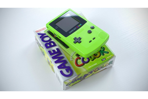 Nintendo Game Boy Color Unboxing! - YouTube