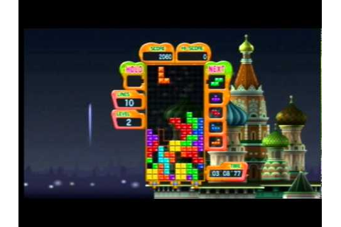Tetris Party Deluxe (Wii) Gameplay - YouTube