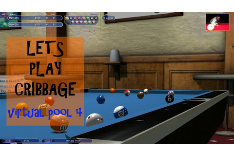 Virtual Pool 4 Blog - Introducing Cribbage - A Great Game ...