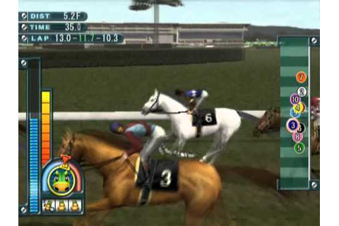 Gallop Racer 2004 (PS2 Gameplay) - YouTube