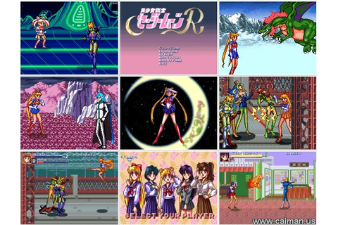 Caiman free games: Pretty Soldier Sailor Moon R by Naoko ...