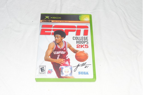 ESPN College Hoops 2K5 Video Game for Xbox Gaming Console ...