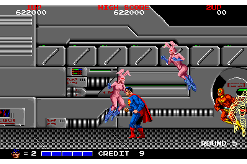 VGJUNK: SUPERMAN (ARCADE)