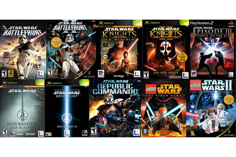 2002 - 2006 The Golden Era Of Star Wars Games : gaming