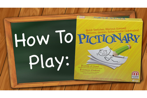 How to Play Pictionary - YouTube