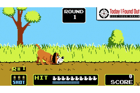 How the Gun on the Original Duck Hunt Worked - YouTube