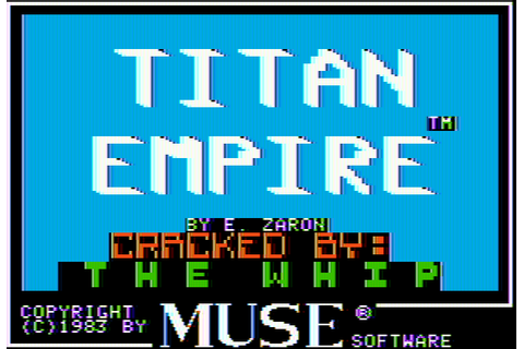 Download Titan Empire (Apple II) - My Abandonware