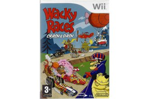 wacky races crash and dash pal wii-allstars full game free ...
