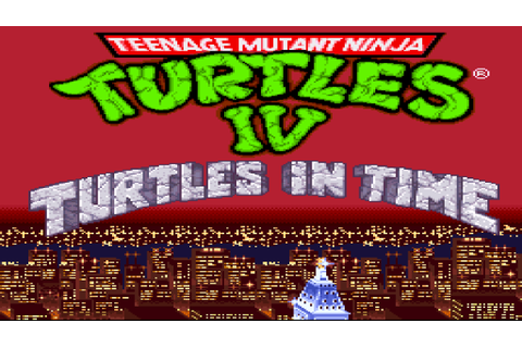 Teenage Mutant Hero Turtles IV - Turtles in Time (Europe) ROM
