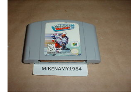 WAYNE GRETZKY'S 3D HOCKEY '98 game cartridge only for ...