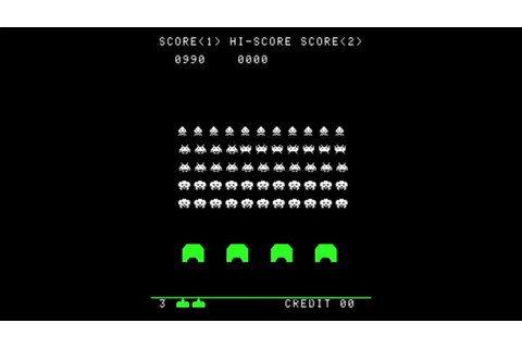 Space Invaders 1978 - Arcade Gameplay - YouTube
