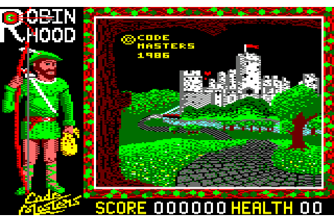 Super Robin Hood (1986) by Codemasters Amstrad CPC game