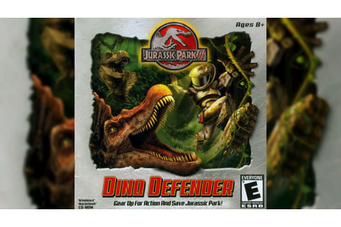 Jurassic Park III: Dino Defender Soundtrack: Load Game ...