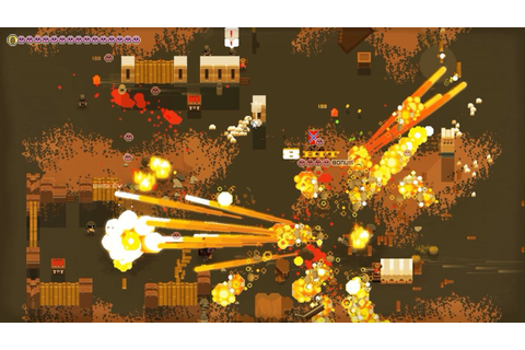 Co-op Western top-down shooter A Fistful of Gun out next ...