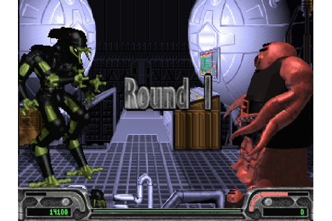 Xenophage: Alien Bloodsport \\\ Abandoned DOS Games