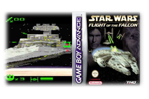 Star Wars: Flight Of The Falcon (GBA/2003) - Der Flug des ...