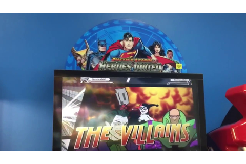Justice League Heroes United Arcade Game Review - YouTube