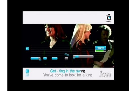 SingStar ABBA PlayStation 2 Gameplay - Dancing Queen - YouTube