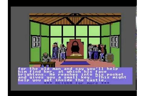 Castle of Terror - C64 - YouTube