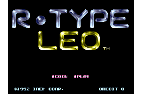 R-Type Leo (World) ROM Download for MAME - Rom Hustler