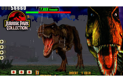 The Lost World: Jurassic Park Arcade Game - YouTube